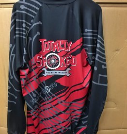 Totally Spoke'd Totally Spoke'd Ridgeline LS MTB Jersey 3XL