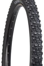45NRTH 45NRTH Kahva Tire - 27.5 x 2.1, Clincher, Steel, Black, 33tpi, 240 Carbide Steel Studs