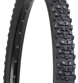 45NRTH 45NRTH Kahva Tire - 27.5 x 2.1, Clincher, Steel, Black, 33tpi, 240 Carbide Steel Studs