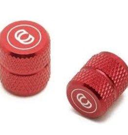 CINEMA VALVE CAPS RED