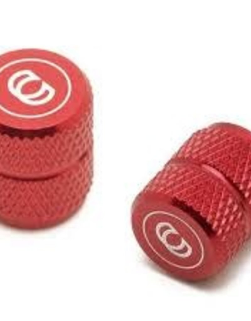 CINEMA VALVE CAPS RED