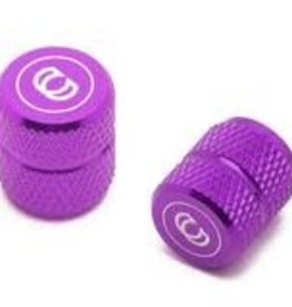 Purple Valve caps