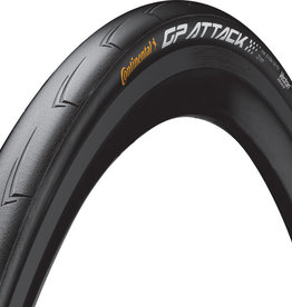 CONTINENTAL Continental Attack/Force III Tire - 700 x 23/25, Clincher, Folding, Black, Front/Rear Combo