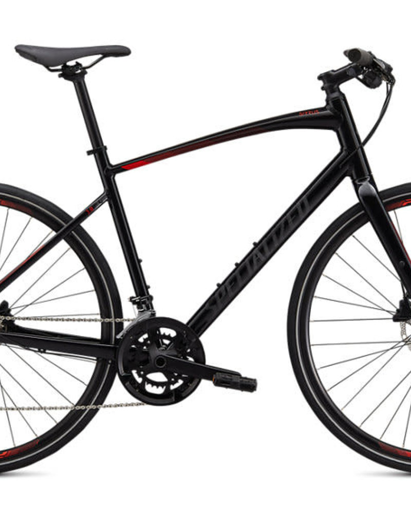 Specialized 20 SPECIALIZED SIRRUS 3.0 BLK/RKTRED/BLK M