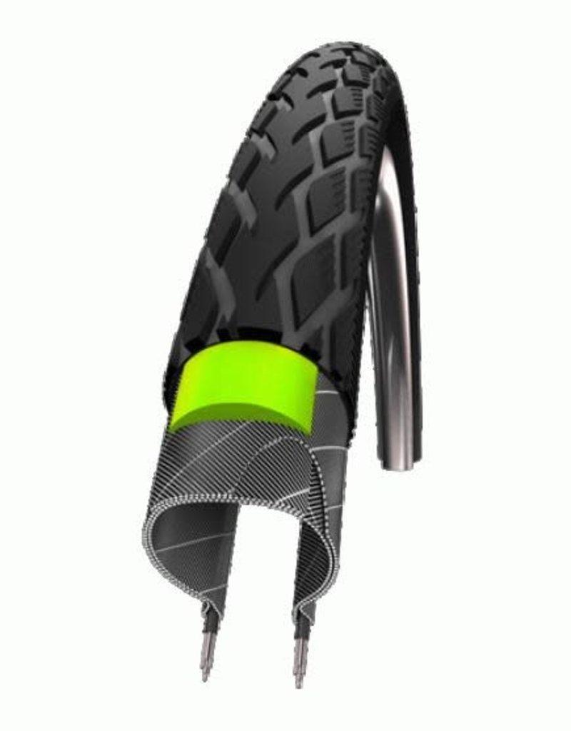 SCHWALBE SCHWALBE MARATHON  16 x 1.75 (47-305) Black, Green Guard, Endurance, Wire