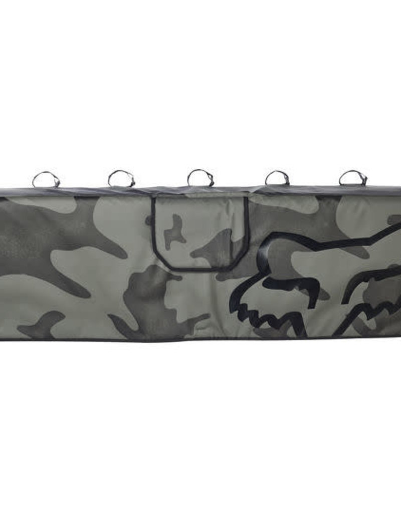 fox head FOX  LARGE CAMO TAILGATE COVER