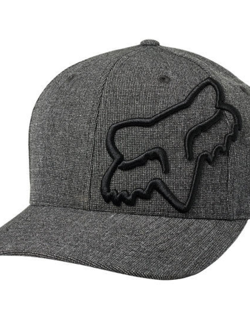 Fox FOX CLOUDED FLEXFIT HAT Black/Black S/M