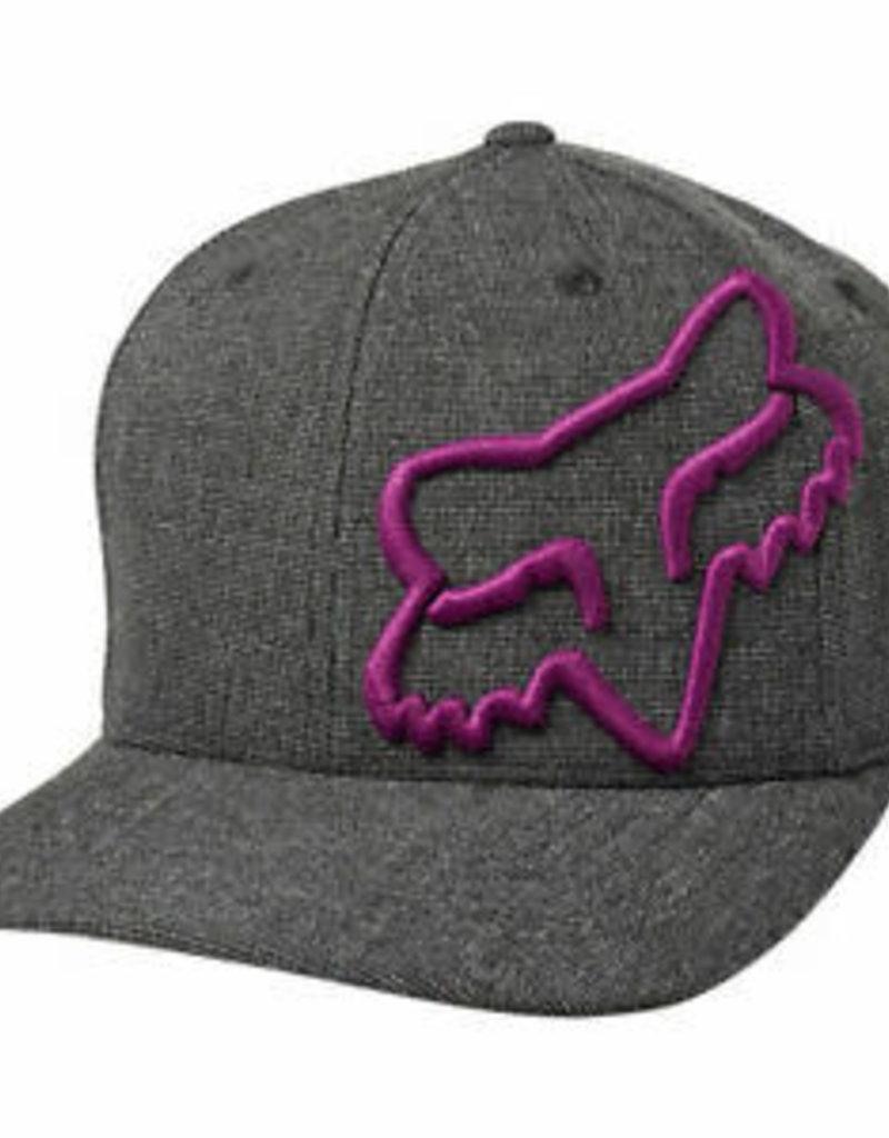 Fox FOX CLOUDED FLEXFIT HAT Black/Purple L/XL