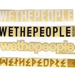 We The People WTP BIG4 FRAME STICKERS