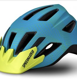 Specialized SHUFFLE CHILD HELMET - Aqua/Hyper Green Dot
