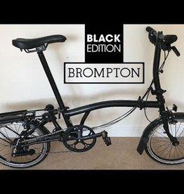 BROMPTON Brompton Black edition 6 spd ti