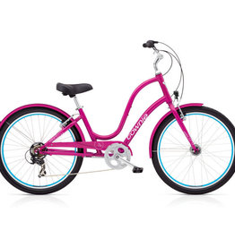 ELECTRA ELECTRA Townie Original 7D EQ Ladies' - Raspberry Metallic