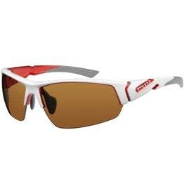 Ryders STRIDER INTERX WHITE-RED / CLEAR, GREY, ORANGE LENS