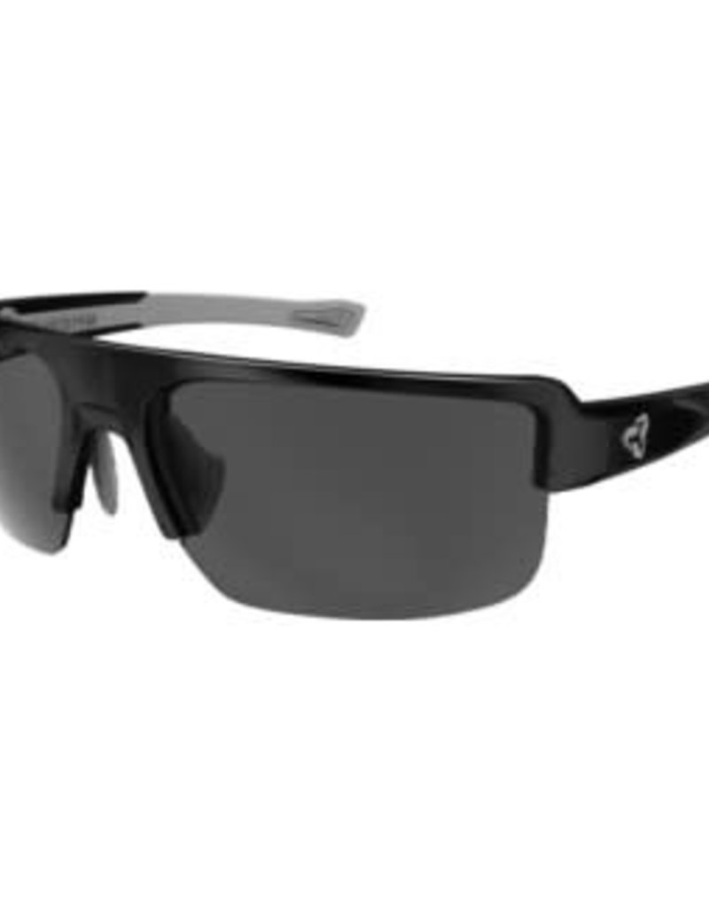 Ryders SEVENTH POLY BLACK-WHITE / GREY LENS FM