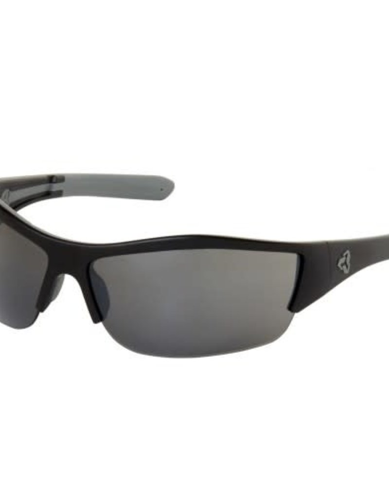 Ryders Bowery poly matte black gun/grey lens