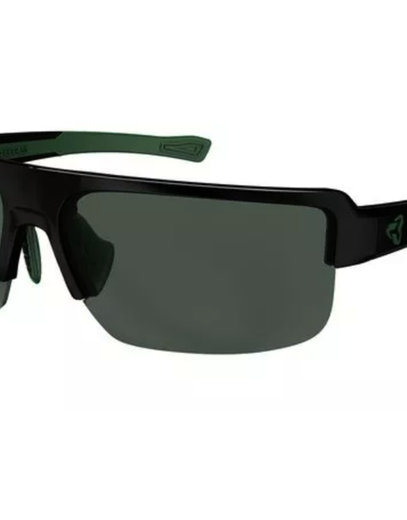 Ryders SEVENTH POLY XTAL BLACK-GREEN / GREEN LENS FM
