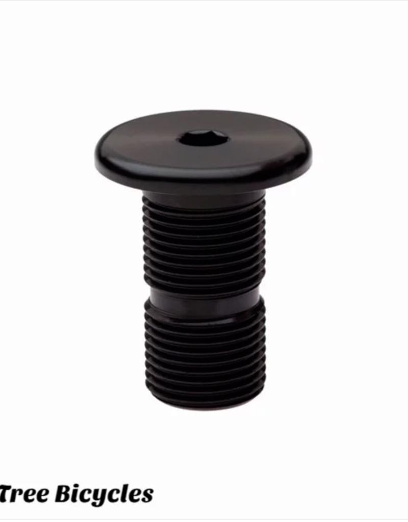 Tree Headset Cap Bolt H18 - Black
