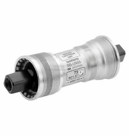 Shimano BOTTOM BRACKET CARTRIDGE, BB-UN55 NON-SPLINED TYPE AXLE BSA 68-127.5MM W/FIXING BOLT