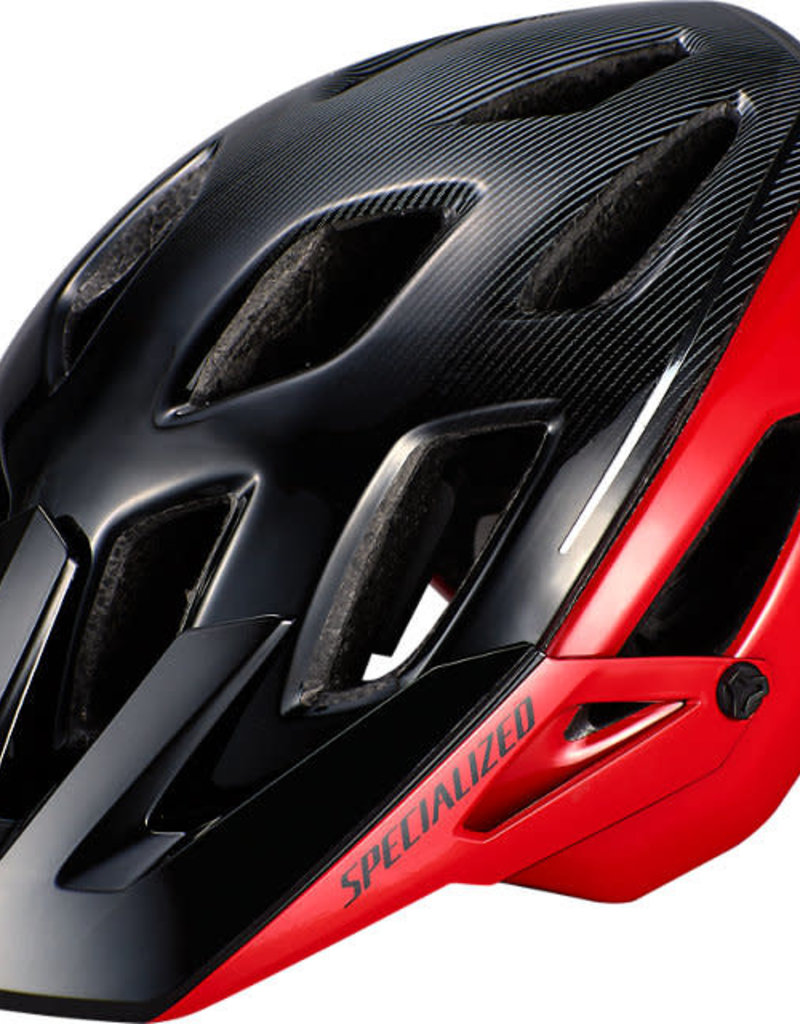 Specialized AMBUSH HELMET w/ ANGI MIPS - Flo Red/Black Large