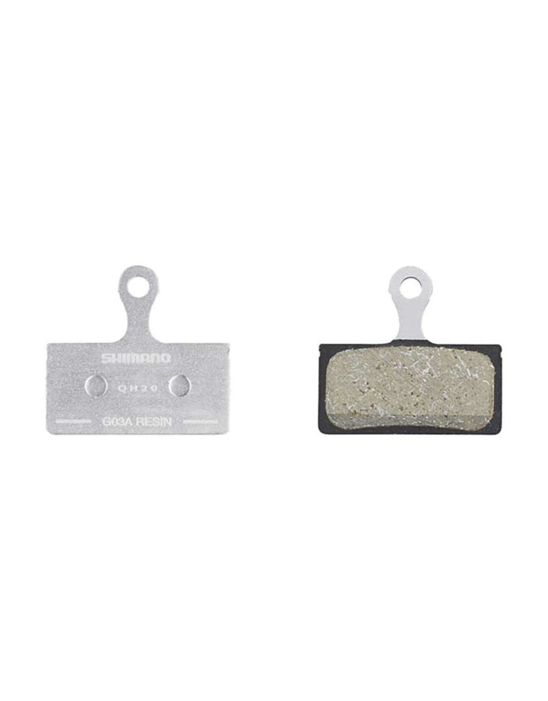 Shimano Shimano, G03A, Disc Brake Pads, Shape: Shimano G-Type/F-Type/J-Type, Resin, Pair