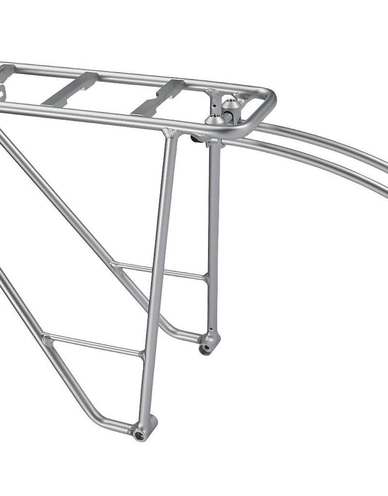 """ELECTRA Electra 24"""" MIK Compatible Rear Rack Silver"""