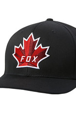 Fox FOX BEVELED LEAF FLEXFIT HAT [BLK] L/XL