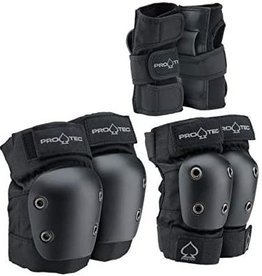 Pro-tec Pro-Tec Youth Street Gear Junior, 3-Pack: Black Youth Small
