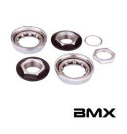 Varia BMX B.B. For One-Piece Crank Silver 51mm O.D.