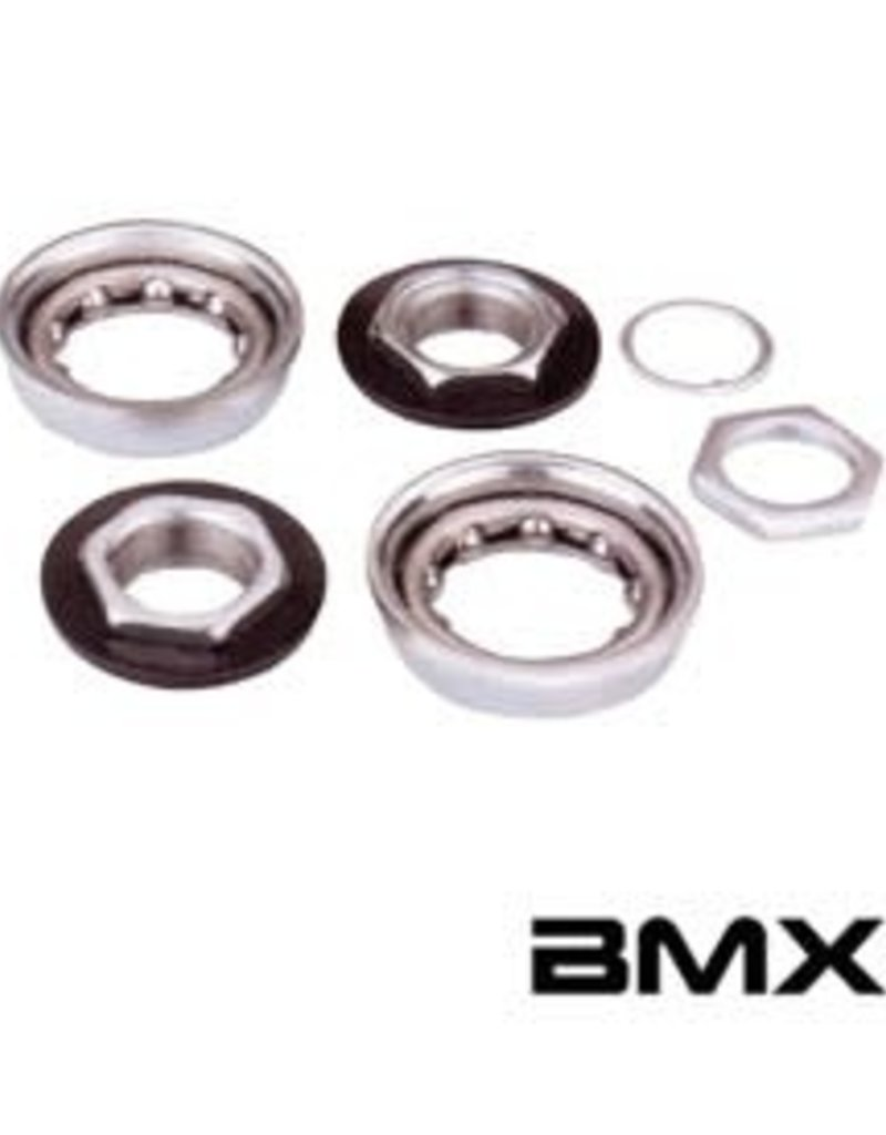 Varia BMX B.B. For One-Piece Crank Silver 51mm O.D.