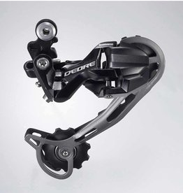 Shimano REAR DERAILLEUR, RD-M592, DEORE, SGS 9-SPEED TOP-NORMAL DIRECT ATTACHMENT, SHADOW DESIGN, IND.PACK