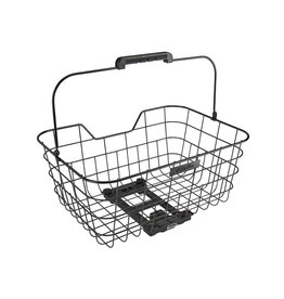 ELECTRA Electra Stainless Wire Basket MIK Black Rear
