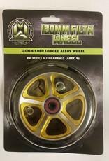 Madd Gear MGP 120MM FILTH WHEEL BLACK W/ GOLD CORE