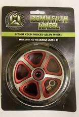 Madd Gear MGP 120MM FILTH WHEEL BLACK W/ RED CORE