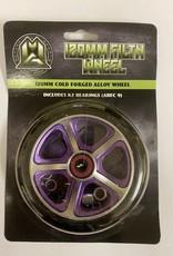 Madd Gear MGP 120MM FILTH WHEEL BLACK W/ PURPLE CORE