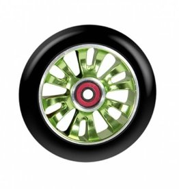Madd Gear MGP 110mm Vicious wheel Black w/ Green core