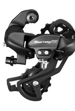 Shimano REAR DERAILLEUR, RD-TX800, TOURNEY TX, 7/8-SPEED, DIRECT ATTACHMENT TYPE, BLACK, IND.PACK