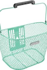 ELECTRA Basket Electra Honeycomb QR Mint Green Front