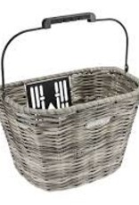 ELECTRA Basket Electra All Weather Woven QR Fog Front