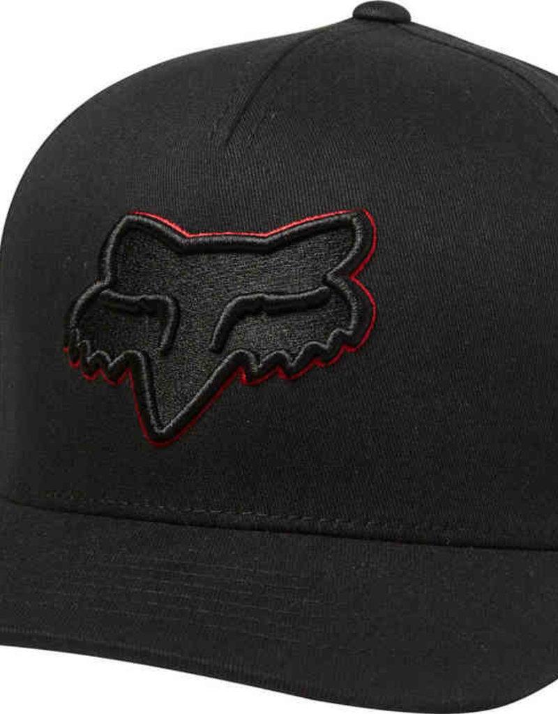 fox head EPICYCLE FLEXFIT HAT [BLK/RD] L/XL