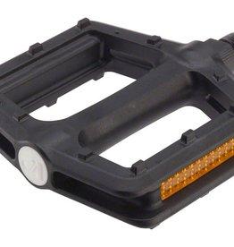 "VP Components VP Components Grind Pedals - Platform, Plastic, 9/16"", Black"
