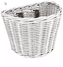 ELECTRA Basket Electra Rattan Small White Front