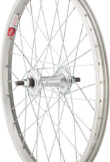 "STA-TRU Sta-Tru Single Wall Front Wheel - 20"", 3/8"" x 100mm, Rim Brake, Silver, Clincher"
