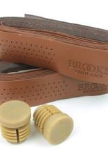 Brooks Brooks, Perforated Leather, Handlebar tape, Honey