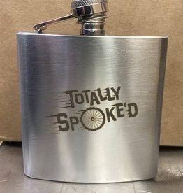 Totally Spoke'd Totally Spoke'd Flask 6oz Stainless