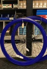 Pure Fix Purefix 50mm Wheelset, Dark Blue (Sold As Pair ONLY)