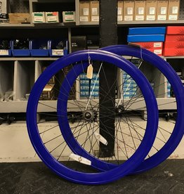 Pure Fix Purefix 50mm Wheelset, Dark Blue (Sold As Pair ONLY)