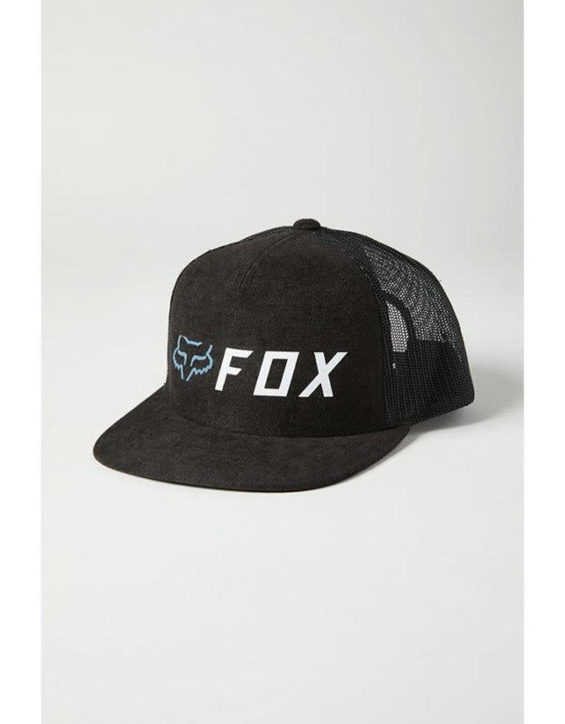 fox head FOX - YOUTH APEX SNAPBACK HAT [BLK/WHT] OS