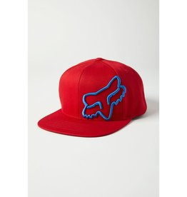 fox head FOX - HEADERS SNAPBACK HAT [RD] OS