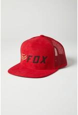 fox head FOX  - YOUTH APEX SNAPBACK HAT [RD/BLK] OS
