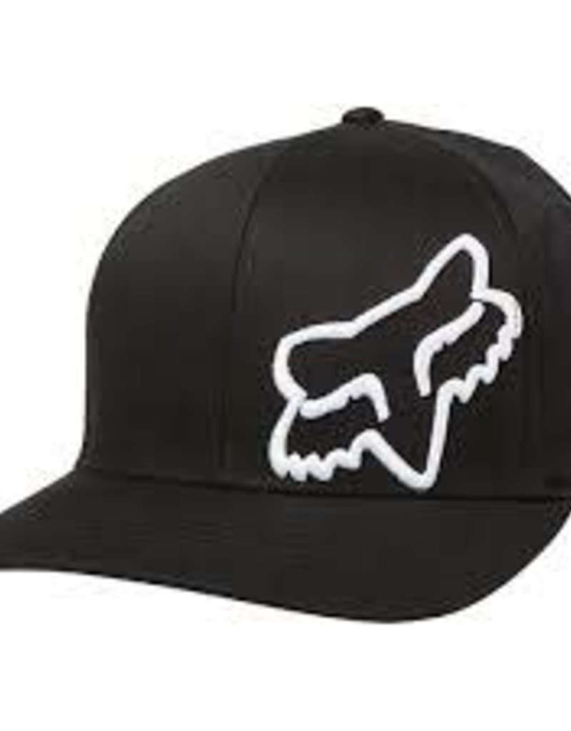 fox head FOX FLEX 45 FLEXFIT HAT [BLK/WHT] S/M